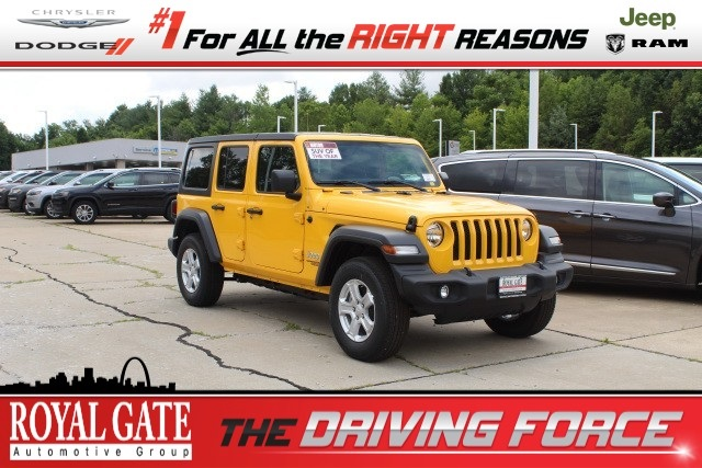 Jeep Wrangler For Sale In Sc >> New 2018 Jeep Wrangler Unlimited Unlimited Sport S For Sale In