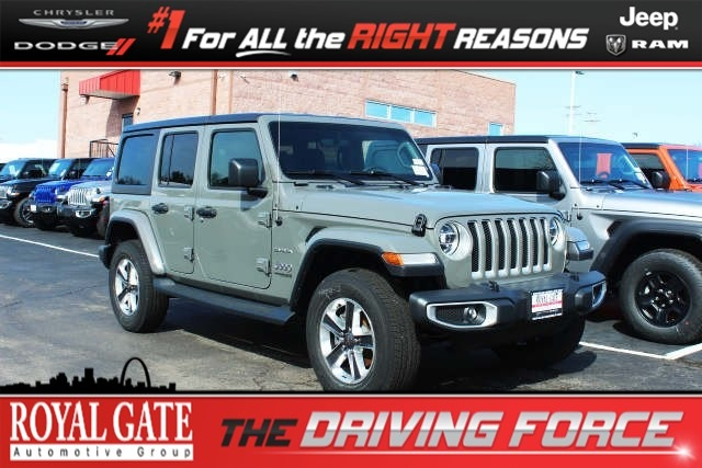 Royal Gate Dodge >> New 2019 Jeep Wrangler Unlimited Sahara 4x4