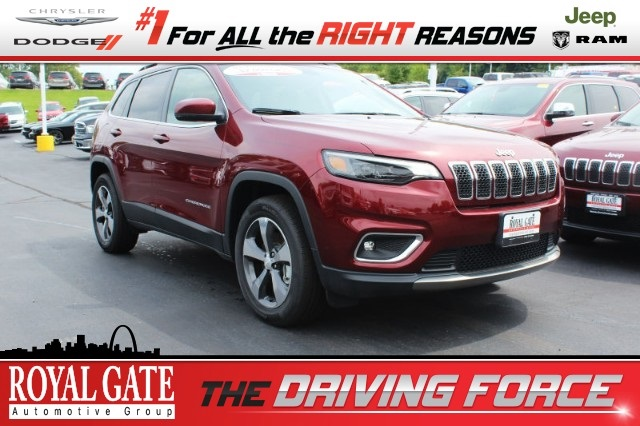 Royal Gate Dodge >> New 2019 Jeep Cherokee Limited Sport Utility In Ellisville J193028