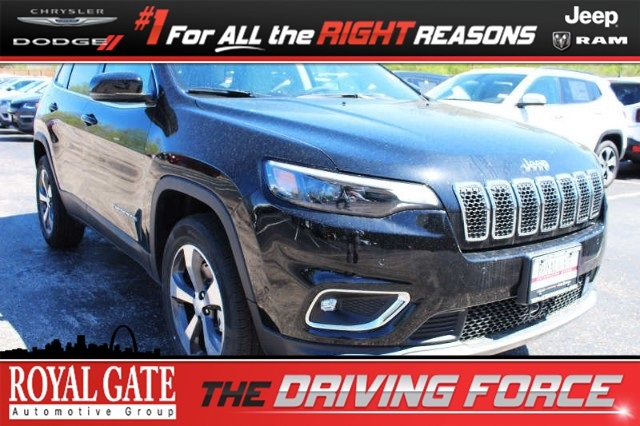 Royal Gate Dodge >> New 2019 Jeep Cherokee Limited 4x4