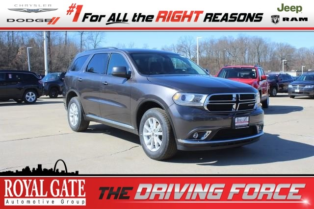 Royal Gate Dodge >> Certified Pre Owned 2019 Dodge Durango Sxt Plus Sport
