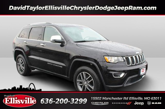 Certified Pre-Owned 2017 Jeep Grand Cherokee 4WD Limited