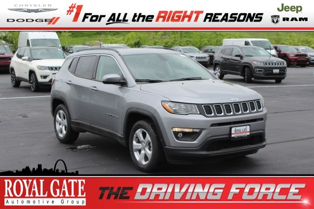 Royal Gate Dodge >> New 2019 Jeep Compass Latitude Fwd