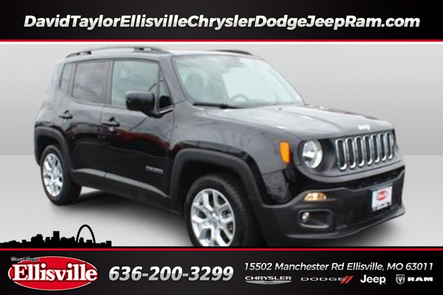 Certified Pre-Owned 2018 Jeep Renegade 2WD Latitude