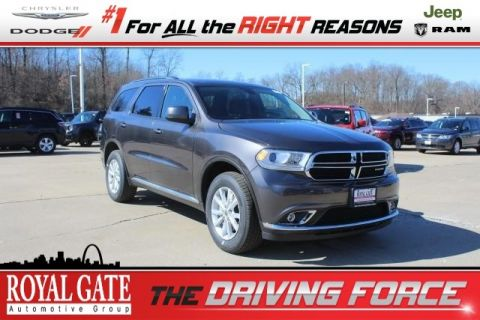 New Dodge Durango in Ellisville | Royal Gate Dodge Chrysler Jeep Ram on trailer plugs, trailer mounting brackets, trailer hitch harness, trailer brakes, trailer fuses, trailer generator,